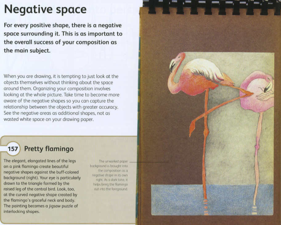 What Are The Different Elements Of Art : Art inspired positive and negative space