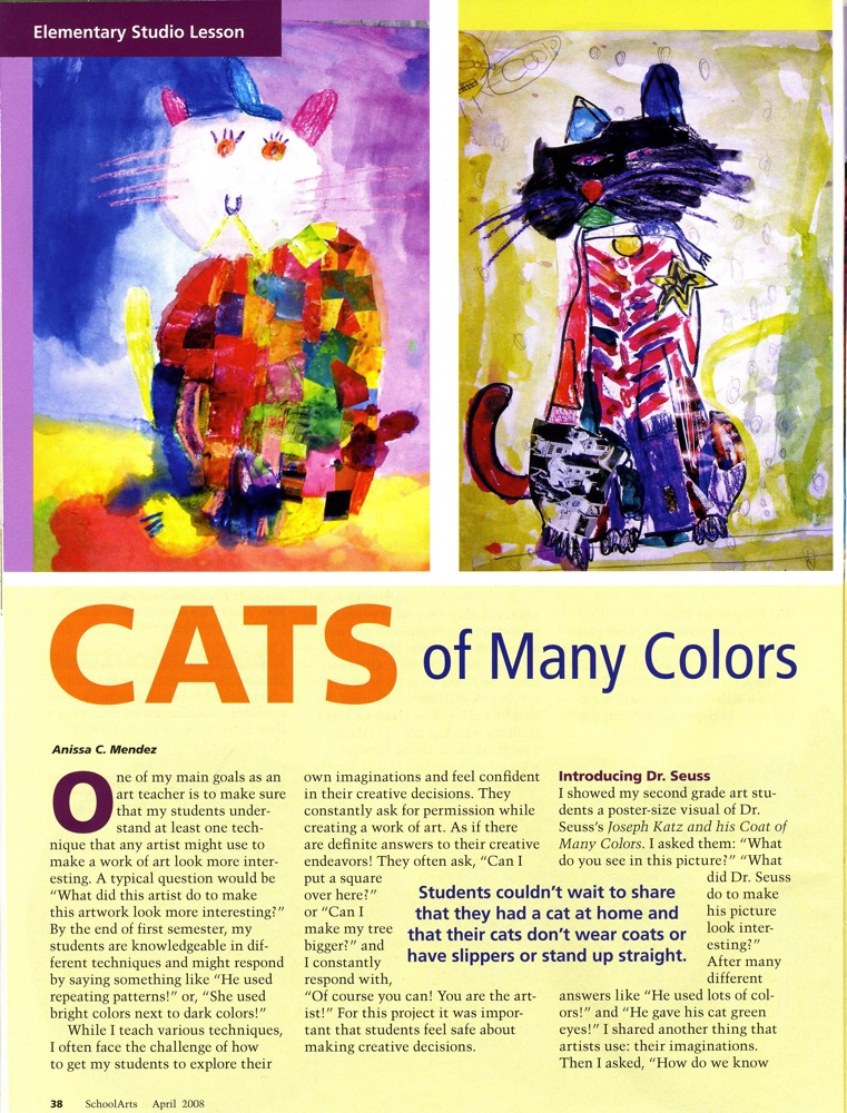 Art Inspired Units And Curriculum For Elementary