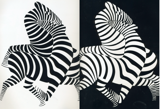 Art Inspired Positive And Negative Space