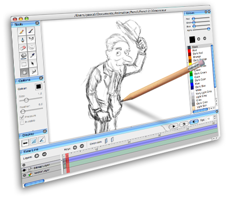 Creative Animals to Draw Animation/drawing Software